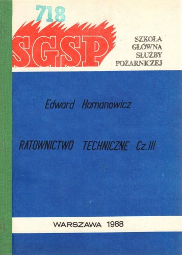 Ratownictwo techniczne cz 3